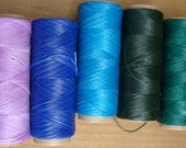 Large bolt UNSPLIT Artificial Sinew Thread Waxed Nylon  for Craft Colorful 50 lb