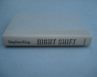 Stephen King Nightshift Book, Vintage Book, Hard Cover, Short Stories, Halloween, Horror, Fantasy, Classic Novel,Collectible