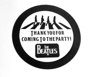 The Beatles Favor Tags (8)