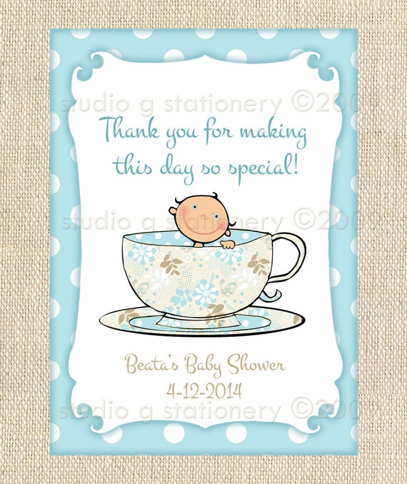 Baby Gift Labels : Baby shower gift tags or labels a s by