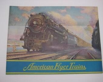 1937 American Flyer Original Vintage Catalog
