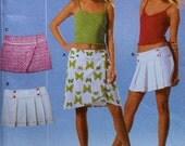 Short Skirt Sewing Pattern UNCUT Burda 8175 Sizes 8-20