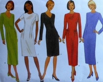 Dress Sewing Pattern UNCUT Butterick 5820 Sizes 8-12
