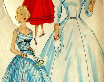 Vintage Dress and Jacket Sewing Pattern Size 14  Simplicity 4676