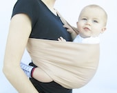 Sydney Baby Sling- 8 Solid Colors Available--Stretch Sateen---Infant sling--baby slings---Neutral for boys and girls