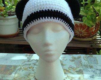 panda ear beanie skullcap