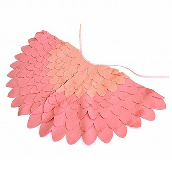 Items similar to Childrens Bird Costume Wings, Dress up ...