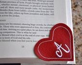 Corner Bookmark in the Hoop