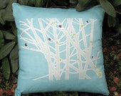 Junco's In Cranberry Bush - Throw Pillow Covers