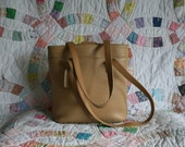 COACH British Tan Pebble Leather Shoulder Bag Handbag PURSE 6810 TOTE