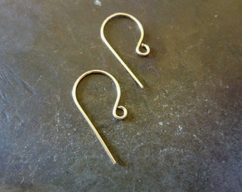 20 Gauge Gold Filled Earwires Classic - 1 pair