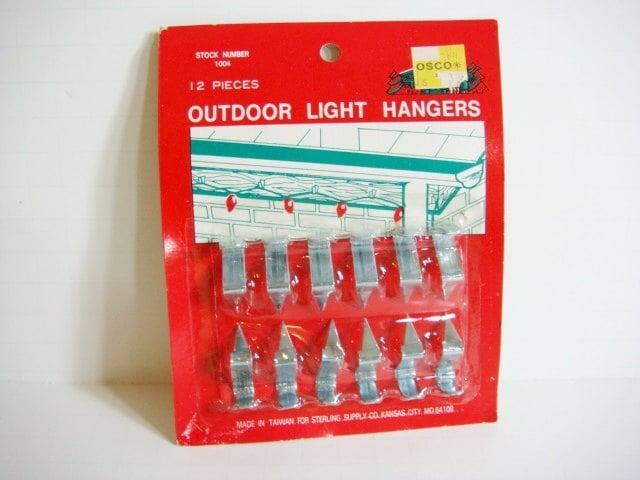 Metal outdoor christmas light hangers roof christmas light - Exterior christmas light hangers ...