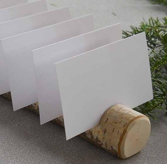 Birch Multi Place Card Escort Card Business Card Holders  for Weddings, Business, Crafter, Artists