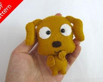 Dog Plush PDF Pattern -Instant Digital Download