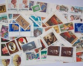 Canada Mail 10 Letters 17-cent Stamps x50 Pieces 30 Different Mint Unused Postage Stamps