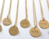 Gold Name Charm Necklace, Name Charms, Mother's Necklace, Custom Name Necklace, Personalized Jewelry by m. frances