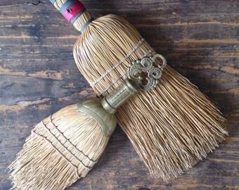 Vintage Whisk Brooms