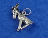 Donkey Charm - Sterling Silver Donkey Charm for Necklace or Bracelet