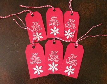 Joy To The World Small Gift Tags