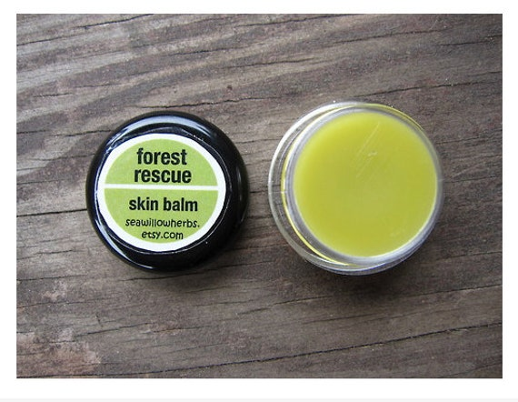 Forest Rescue Skin Balm - Herbal Healing Outdoor Salve with Essential Oils - Sample Size - Travel Size - Backpacking - Wanderlust - hiking