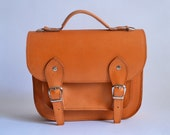 Bag number 3 leather satchel shoulder strap (Handmade to order)
