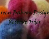 Custom order for Robbigraham, cranberry, dark teal, white ornaments and acorns