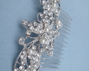 Wedding hair comb pearl bridal hair comb wedding hair accessories bridal headpiece wedding comb bridal hair jewelry wedding accessories