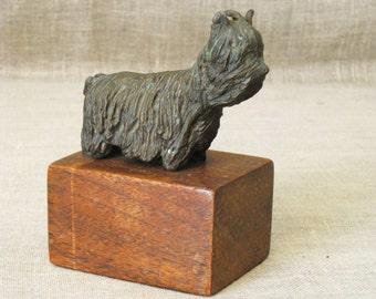 Dog , Dog Figure , Bronze Dog , Bronze Statue , Small Bronze , Canine , Sculpture , Dog Sculpture , Animal , Pet , Terrier , Small Dogs