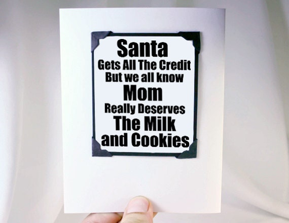 Items Similar To Funny Christmas Card Christmas Cards