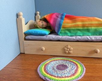 Barbie Wooden Trundle Drawer Bed