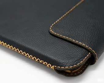 iPad Mini 4 Handmade Genuine Leather Case Sleeve (Top closing) - FREE SHIPPING