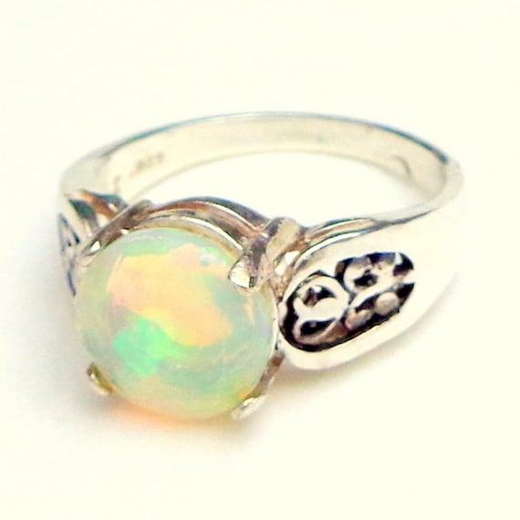 Opal Ring Welo Opal Ring Ethiopian Opal Ring