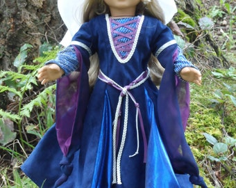 Medieval outfit for your American Girl