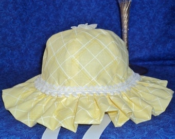 Baby Sun Hat Yellow