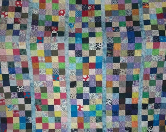 Quilt - Keeping the Squares in Line - Made To Order
