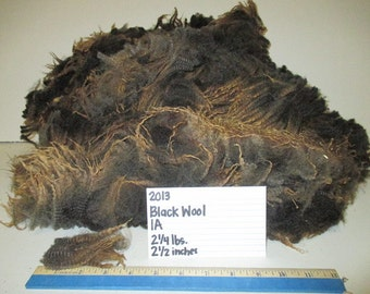 Black Wool (1A) 2014