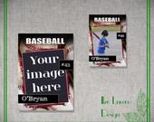 PSD Baseball Trading Card Template