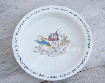 Wedgwood Peter Rabbit Beatrix Potter Bowl