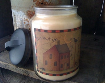 26oz Apothecary Jar Candle - Soy - Handmade - Highly Scented - Choice of Scent - Only 23.99