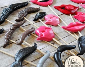 SALE - Plastic Props on Sticks - The Misfits - Set of 20