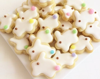 Easter Bunny Cookies Mini Style 3 (1 pound)