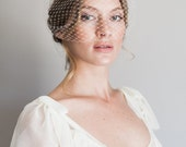 9 in french netting bandeau style veil #1010