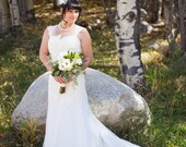 Something Blue (Black, White or ...) 2-layer Crinoline Petticoat Slip for A-Line, Trumpet and Fit and Flare  Wedding gowns