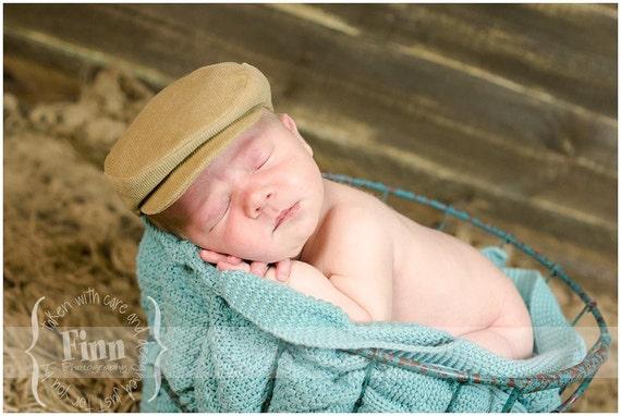 Newsboy Baby Cap