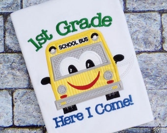 1ST Grade here I come with school bus