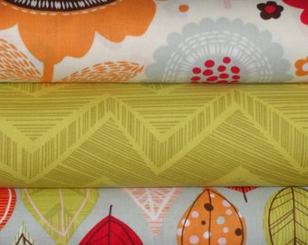 Matilda Collection by Alice Kennedy for Timeless Treasures Fabric, Full Yard Bundle, 3 Yards Total