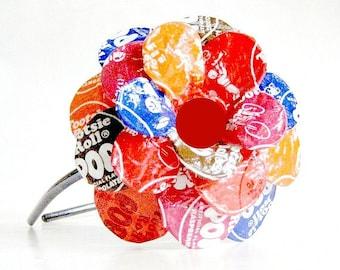 Lolli-Popped Daisy Paper Mache Headband