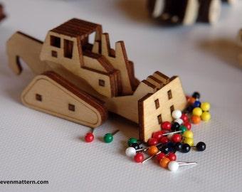 Bulldozer Toy Kit - Build Your Own!