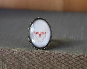 Skull Adjustable Ring