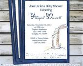 Printable Shower Invitation - Rabbit